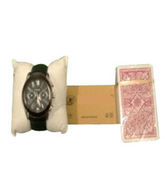 New Watch Phone Playing Card Device