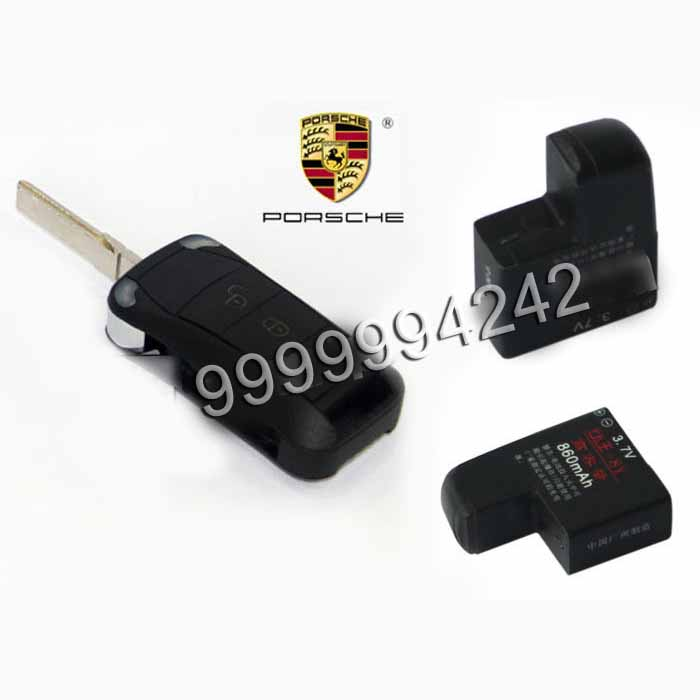 Remote Infrared Gambling Cheating Devices Black Toyota Car Key Lithium Battery