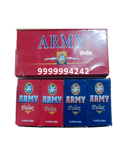 Army Deluxe Cheating Playing Cards