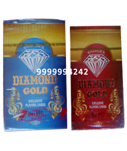 Diamond Gold Cheating Playing Cards