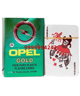 Opel Gold Cheating Playing Cards
