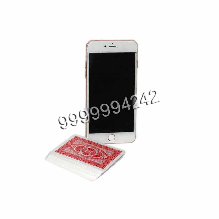 White Plastic Iphone Six Mobile Poker Exchanger Gambling Cheat Devices