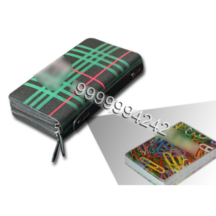 Purse Camera Poker Scanner Analyzer To Scan And Analyze The Invisible Sides Bar Codes