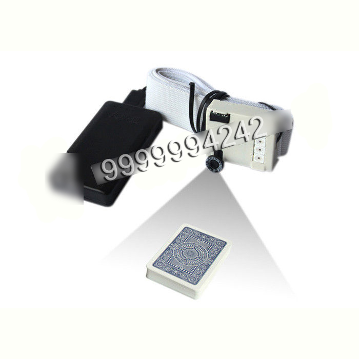 Four Lights Mini Sensor Button Camera Poker Scanner To Scan Bar Codes Playing Poker